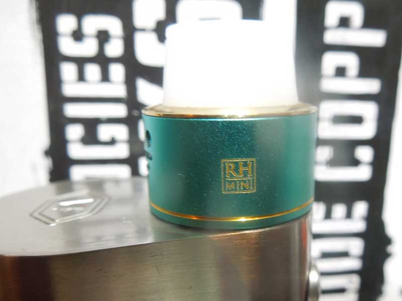 RBA コイルの巻き方 The Council of vapor RDA Royal Hunter mini