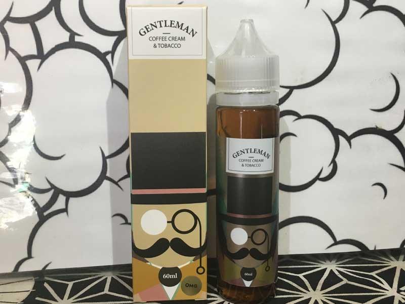 Basic Vapor GENTLEMAN 60ml ベーシックベイパー ジェントルマン 葉巻系タバコ x コーヒー味