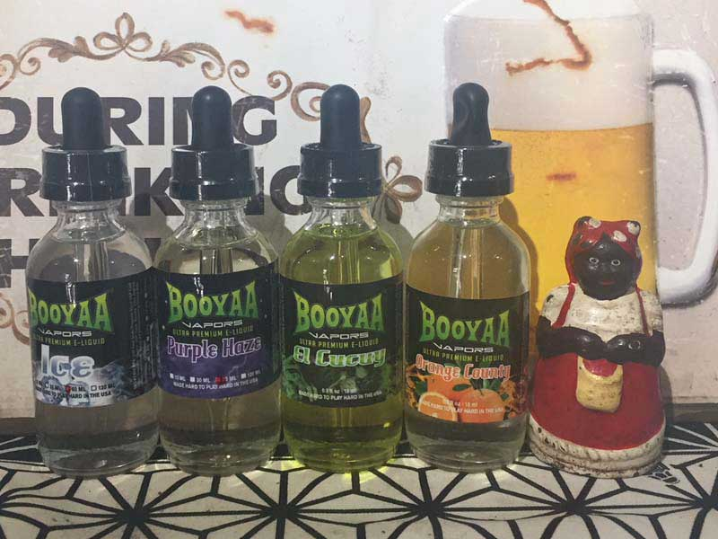 BOOYAA VAPORS ULTRA PREMIUM E-LIQUID 60ml ブーヤー