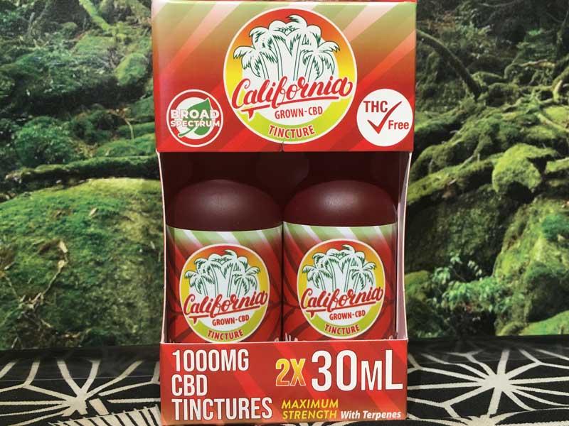 California Grown CBD/CBD Tincture オイル CBD 1000mg/30ml、経口摂取用 高濃度スペクトルCBD