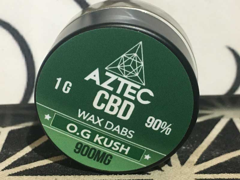 AZTEC CBD WAX ブロードスペクトラム CBD 900mg CBD90% アステカ CBD ワックス 1000mg