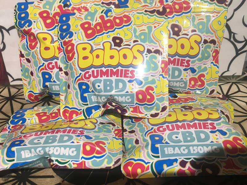 Bobos GUMMIES CBD 1BAG 150MG(25mgx6粒)、ボボス CBDグミ