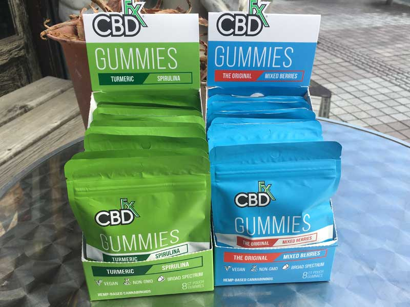 CBDfx CBD Gummies CBD 25mg x 8個、スーパーフードxブロードスペクトラムビーガン仕様のCBDグミ