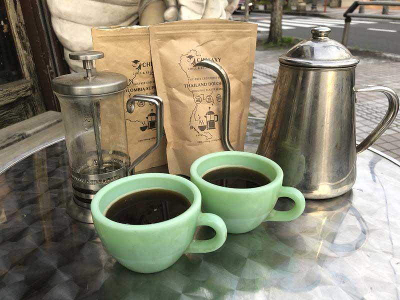 CHILLAXY CBD Coffee CBD 200mg コーヒー豆 100g(10杯分)チラクシー コロンビア産スプレモグレードコーヒー