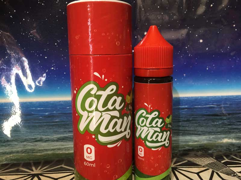 Cola Man Lime 60ml コーラリキッド、コーラマン ライム