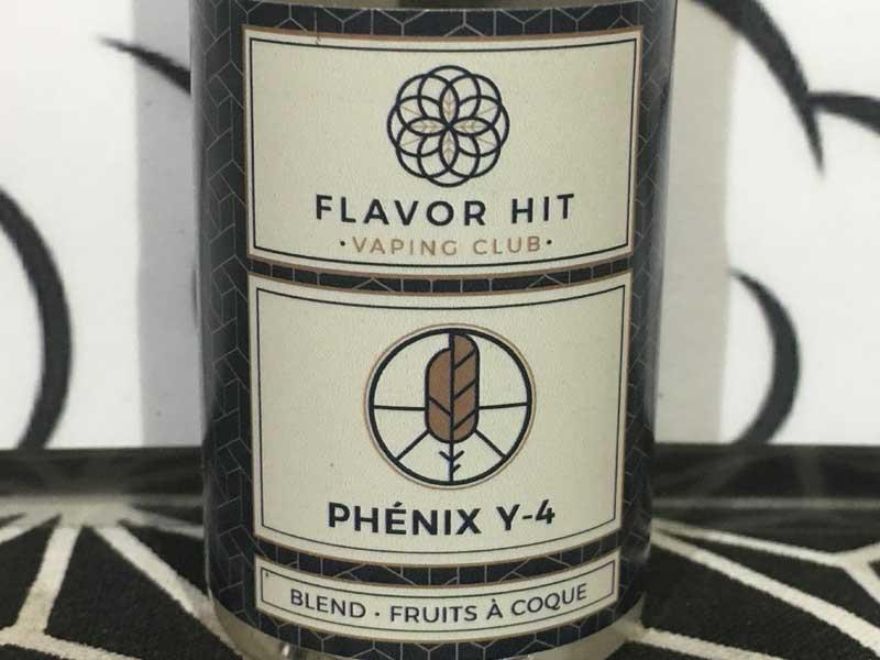 フランス製 FLAVOR HIT E-Liquid PHENIX Y4 30ml フレーバーヒット フェニックス ナッツ系タバコ