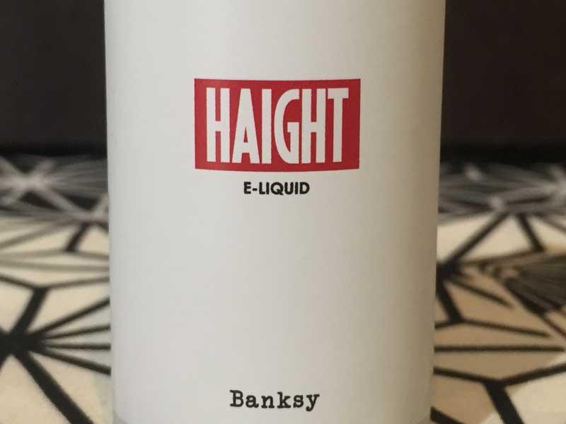 HAIGHBanksy 30ml バンクシー Vanilla Cuctard バニラカスタード
