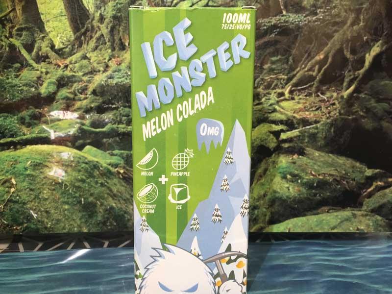 Ice Monster Melon Colada 100ml アイスモンスター メロンコラーダ味