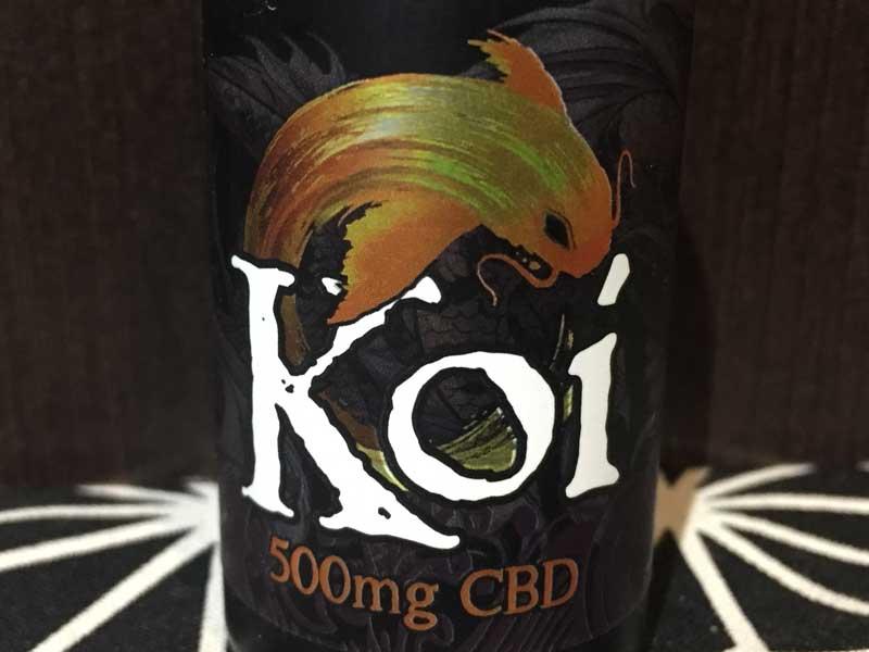 Koi CBD Cannabidiol Gold バニラキャラメル味