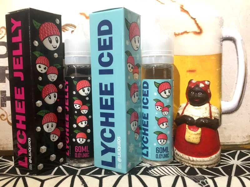 LJ Liquids/Lychee Iced 60ml、エルジェイリキッズ ライチアイス
