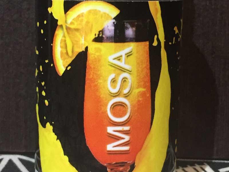MOSA 60ml モサ オレンジジュースxシャンパン、モミザ カクテル