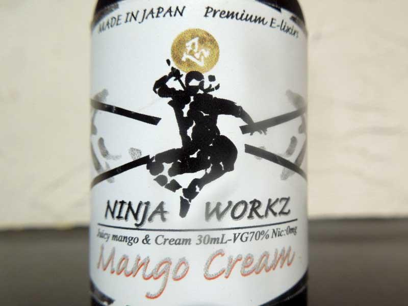NINJA WORKZ Mango Cream ニンジャワークス、マンゴークリーム