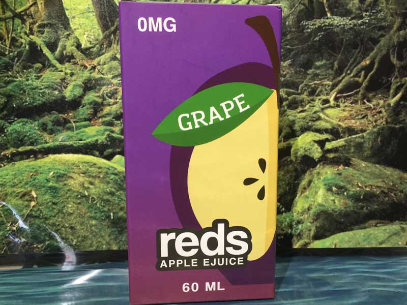 Reds Apple E-Juice/Reds Ice Grape 60ml、Red Appl