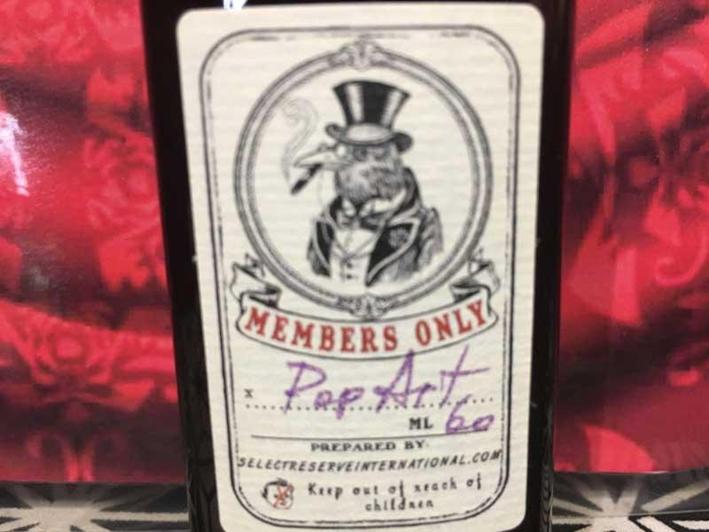 US Vape E-Liquid Tark's Select Reserve(タークス セレクトリザーブ)、タークスジュース、タバコ味