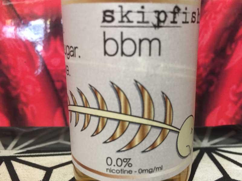 skipfish (スキップフィッシュ)BBM 60ml /バーボンxブラウンシュガーxミルクシェイク