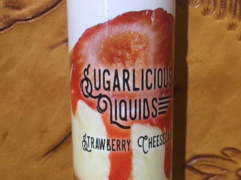 Sugarlicious Strawberry Cheesecake 60ml、ストロベリーチーズケーキ