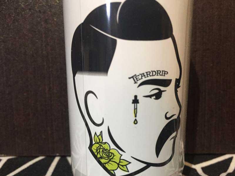 TEARDRIP JUICE CO Cremlonクリーム・ブリュレに添えたマイヤーレモン