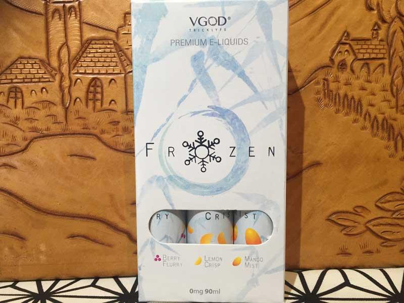 V GOD Frozen 90ml フローズン/ メンソールリキッドキッド3種