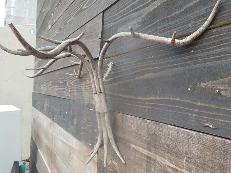 新品 SPICE Roman Iron Wall Vine、スパイス アンティーク 錆加工の蔦植物のようなアイアンウォールラック
